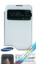 Genuine Samsung EF-CI950BW S View Flip Cover Case for Galaxy S4 S IV i9500 White