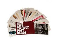 NICK CAVE 2007 collection TWENTY POSTCARD SET official ex tour merchandise