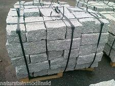 Granit Mauersteine 10x20x40 cm, Natursteine - grau