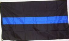 Blue Line X-Large Coffin Flag