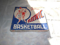 VINTAGE TOY 1949 JIM PRENTICE ELECTRIC BASKETBALL GAME
