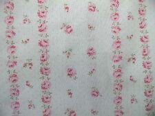 Yuwa Romantisch Chic Vintage Dancing Tapete Streifen rosa Rosen Stoff vom YD
