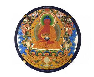 Tapis de souris  Amitabha Bouddha buddha Bouda Népal Peterandclo