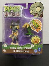"Plants Vs Zombies 3"" Figure 2-Pack: Tomb Raiser Zombie & Bloomerang New In Pack"