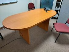 New Listingconference Table 72 Oval Width 36 Inches