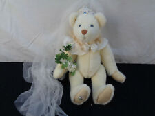 """Collection Bride Bear Artist Christy Firmage Funicello 14"""" Bear(Oaw26)"""
