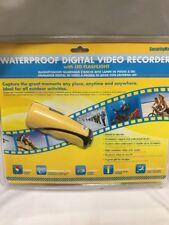 New SecurityMan Waterproof Digital Video Recorder with LED Flashlight Bike Cam