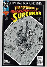 Superman-Funeral For a Friend  1, 2, 3, 4, 5, 6, 7, 8, 9   DC COMICS  1st. Print