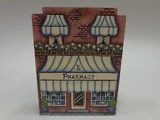 Brandywine Woodcrafts Village House Pharmacy Wood Shelf Sitter