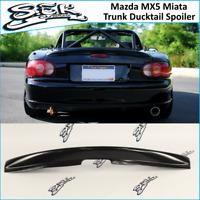 Mazda MX5 Miata Rear Boot Trunk Ducktail Spoiler Wing Lip (Fits Mazda MX5 )