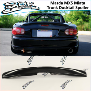 Mazda MX5 Miata Rear Boot Trunk Ducktail Spoiler Wing Lip (Fits Mazda MX5 )