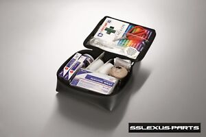Lexus ES300 ES330 ES350 ES300H (1992-2017) OEM Genuine FIRST AID KIT