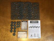 Necromunda Dark Uprising Corpse Grinder Cult x15 bases data cards Games Workshop