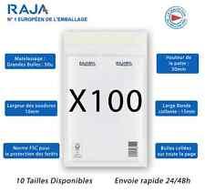 Lots D'enveloppes à Bulles RAJA Taille B / 2 Format Intérieur 120x215mm