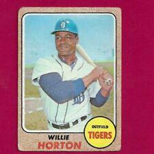 1968 TOPPS #360 WILLIE HORTON DETROIT TIGERS  BASEBALL CARD-GOOD