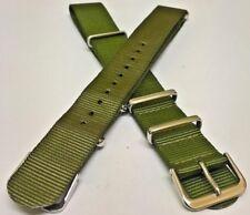 SPORCA DOZZINA Militare Cinturino Nylon 18 mm 20 mm 22 mm NOS