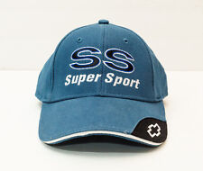 Chevrolet SS Super Sport Adjustable Blue Baseball Cap Hat (new w/ slight defect)