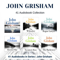 John Grisham 41 Audiobook Collection Unabridged (MP3) incl Sycamore Row and more