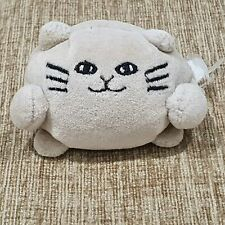 Jellycat White Ping Pong Kitty Cat Soft Toy Plush