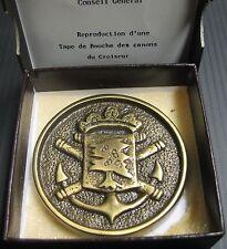 Médaille VILLE DE CHATEAU-RENAULT REPRO TAPE DE BOUCHE CROISEUR CHATEAU-RENAULT