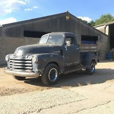 1949 Chevy Pick Up Truck - Running Project - Hotrod Rat Rod LHD Classic