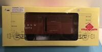 Aristo-Craft ART- 86001 - Wood Box Car - DRGW/Rio Grande G Scale