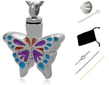 Funeral cremation Urn,Memorial Cremation Jewelry,Pendant,Urn,Keepsake,Butterfly
