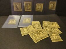 Lot Comics Stamps Movie Stars SEEIN' STARS 1930s Vintage Limited Edition