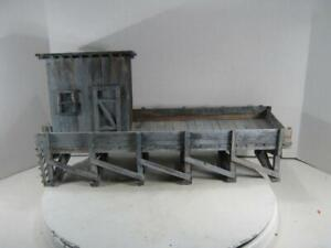 G Scale Scratch Built Custom Water Dock/Platform