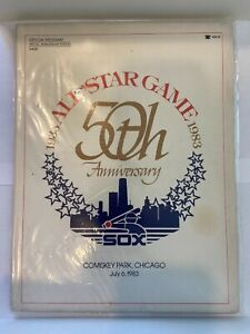 1983 All Star Game Official Program, 50th Anniversary Special Edition