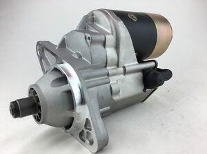 STARTER MOTOR TO ISUZU NQR 450  5.2L 4HK1  DIESEL  (2 type motor CHECK PART NO)
