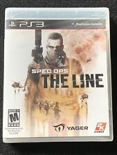 PS3 SPEC OPS THE LINE Premium Edition | PlayStation 3 PS3 | NEW SEALED RARE OOP