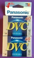 Panasonic DVC SP60 Sealed 4 pack
