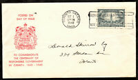 "CANADA 1948 FIRST DAY COVER ""CENTENARY OF RESPONSIBLE GOVERNMENT"" SC# 277 [158]"