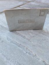 Aluminium Letters Holder