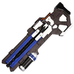 Overwatch Soldier:76 Cosplay Foam Pulse Rifle Gun Events Safe Prop