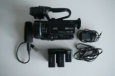 JVC GY-LS300 4KCAM Handheld S35mm Camcorder w/ Spare Batteries
