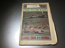 Competition Press & Autoweek January 31 1976 F-1 Lauda F-2 iNDY NASCAR SCCA NHRA