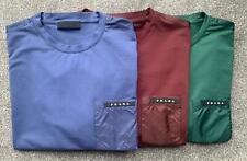Prada Nylon Pocket T-Shirt. 100% Authentic. New collection 2019.