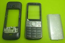 Body Housing Bezel Cover Case keypad Keyboard Gold For Nokia C5 C5-00