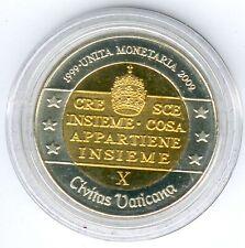 "Vatican 2 Specimen/Medal ""10 Jahre WU"" 25,35mm, 12,33g, Proof Like + Zertifikat"