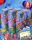MOUNTAIN DEW CAKE SMASH LIMITED EDITION FLAVOR MTN DEW CAKE SMASH 6 PACK IN HAND