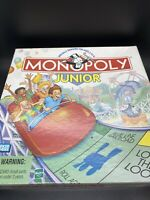 1999 Monopoly Junior Board Game by Parker Brothers Complete in Good Condition