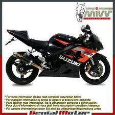 Mivv Exhaust Muffler GP Carbon Fiber for Suzuki Gsx-R 600 2004 > 2005
