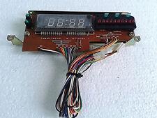 PCB display horloge/Led mémoires: Continental Edison LE9965/ Pièce détachée.
