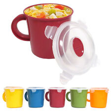 Travel BPA Free Soup Mug Cup 23 oz Take Out Microwave Safe Container Storage New