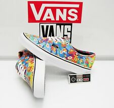 Vans Authentic Nintendo Super Mario Bros VN0004MLJPA Women's Size: 7