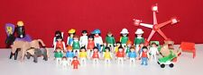 Playmobil Figuren großes Konvolut, Pferde, Ritter, Kinder, Baby, Zubehör