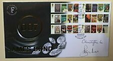 More details for actor signed - christopher lee and roger moore (james bond) fdc