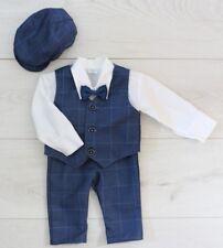 Baby Boy Suit GENTILUOMO Navy Vestito Smart Festa Battesimo NATALE